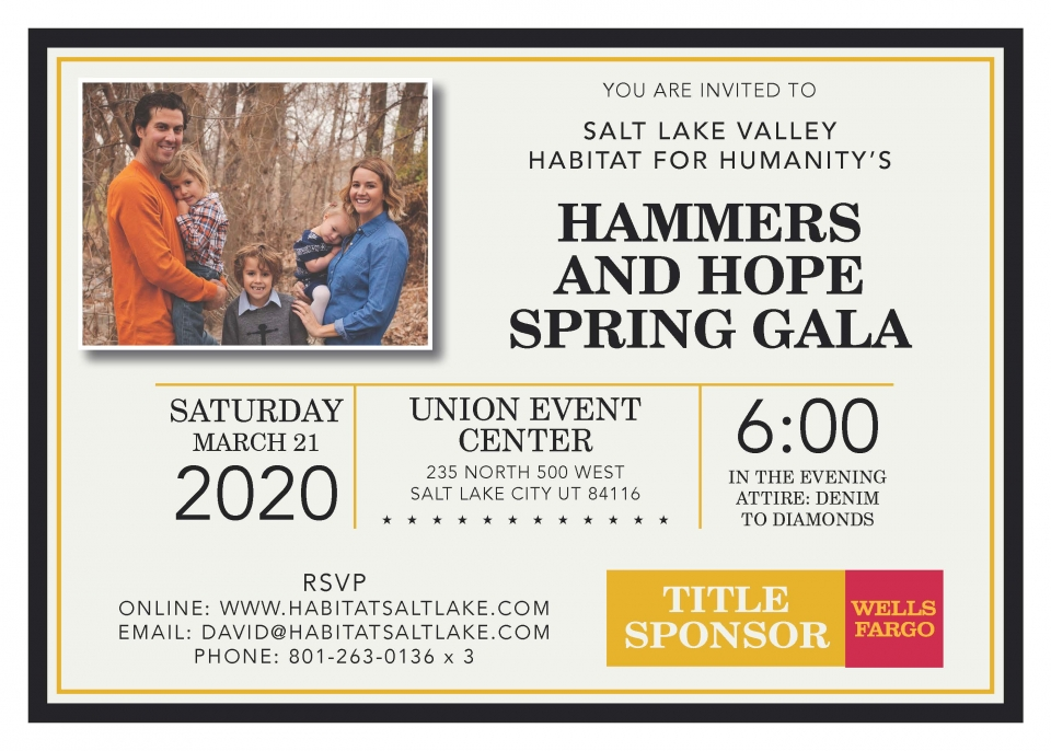 2020 Hammers and Hope Spring Gala